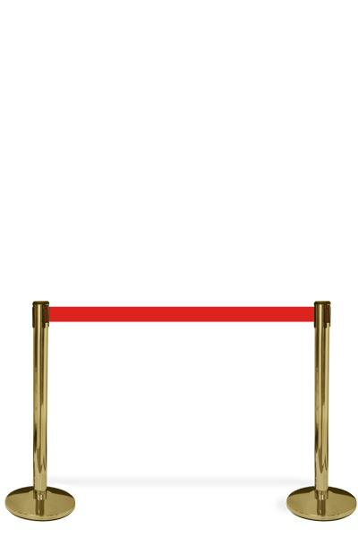 Crowd Barrier Belt, Gold