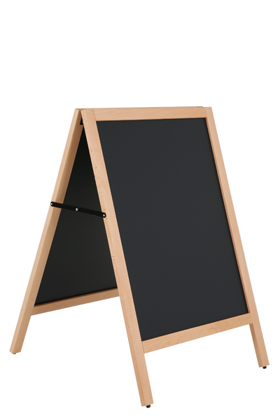Wooden A-Boad Light with Steel Board