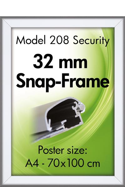 Security FrameVæg, 32 mm