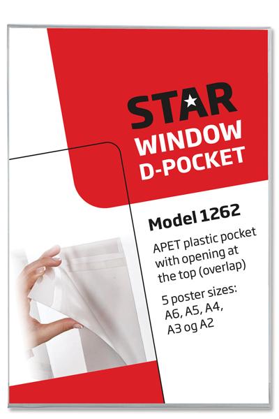 Plastic Window D-Pocket