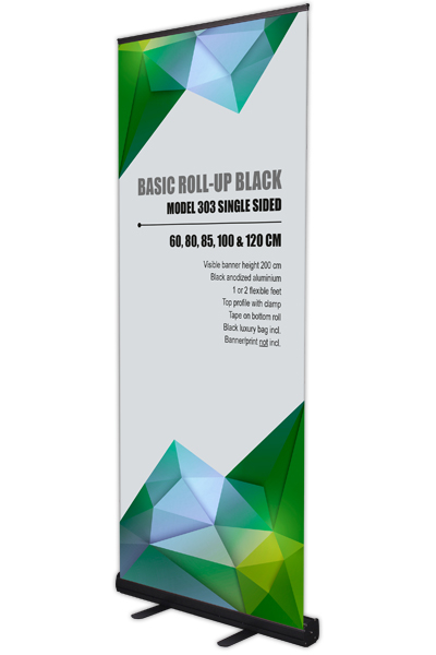 Basic Roll-Up, enkeltsidet sort