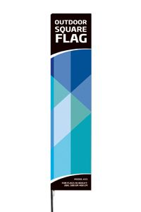 Outdoor Square Flag