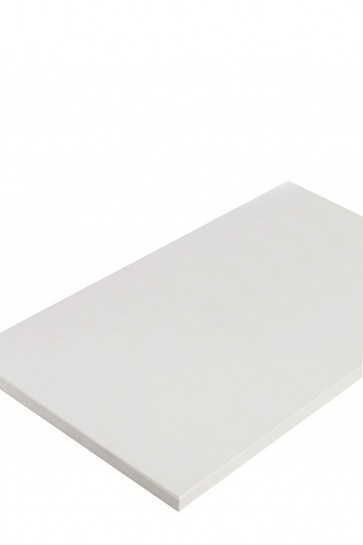 CROWN Truss Counter top plate, 95x65cm - White