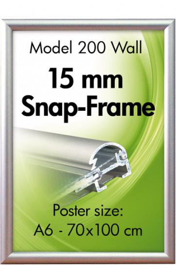ALU SNAP-FRAME 15mm (G) A4 alu