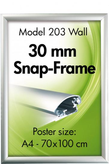 ALU SNAP-FRAME 30mm (G) A4 alu