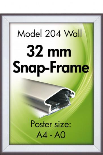 ALU SNAP-FRAME 32mm (G) A3 alu