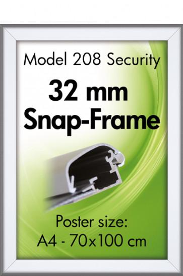 SECURITY FRAME 32mm (G) A2 alu
