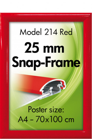 ALU SNAP-FRAME 25mm (G) A2 RAL3020