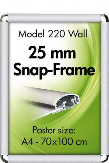 ALU SNAP FRAME 25mm (R) 50x70cm alu