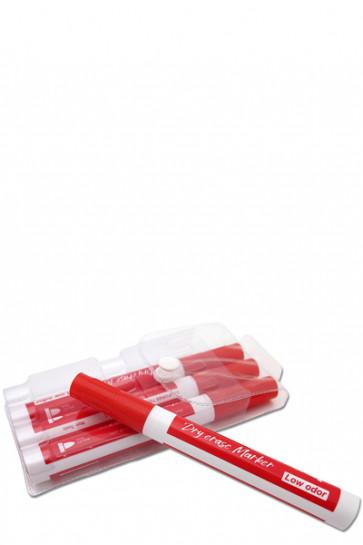 White Board Marker - 4 stk. rød