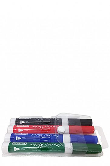 White Board Marker - 4 farvet mix