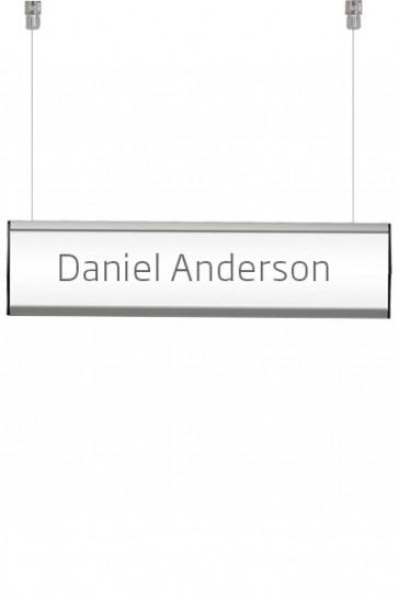 Ceiling Info System, double. 1 række á 7,4x50cm