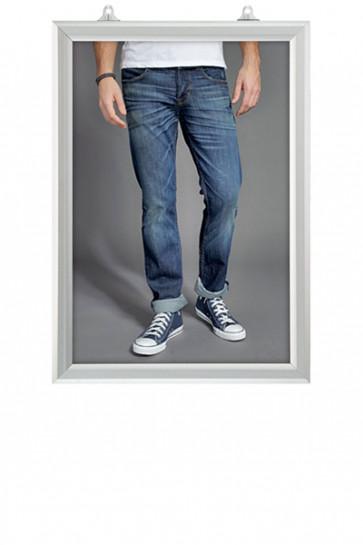Slide-In Frame 25mm Vertikal A2 Alu