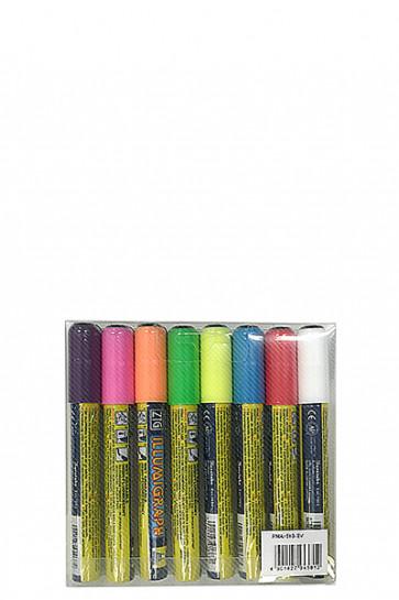 Board Marker 6mm sæt m/8 farver