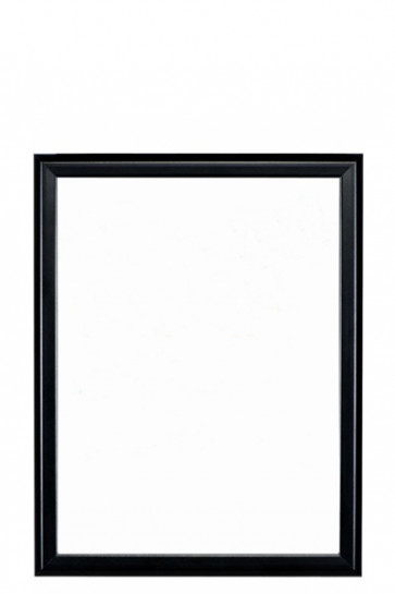 Whiteboard m/sort ramme 40x60cm