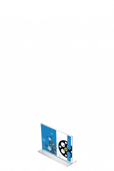 ACRYLIC T-MENU HOLDER Horisontal A7