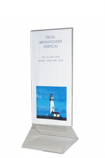 DELTA MENU HOLDER Vertical M65