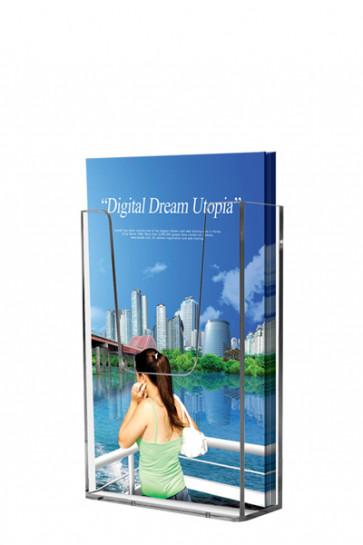 Acrylic Wall Brochureholder A5 klar