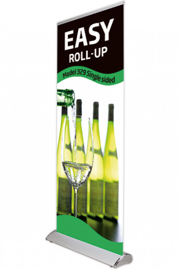 Topprofil med klemliste til Roll-Up Easy 80cm
