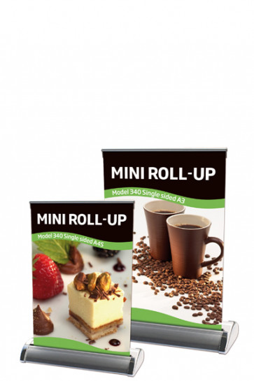 Mini Roll-up, A4 - alu