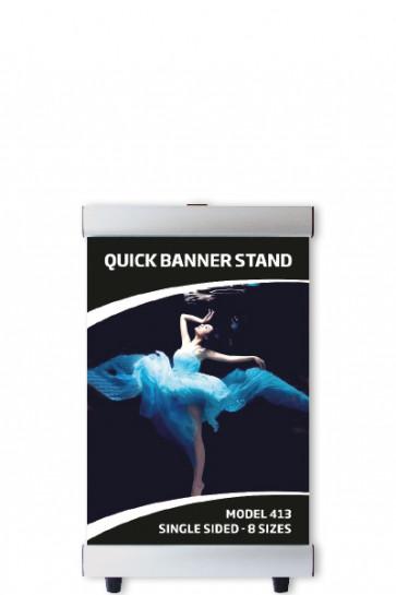 QUICK BANNER STAND 70x100cm enkeltsidet