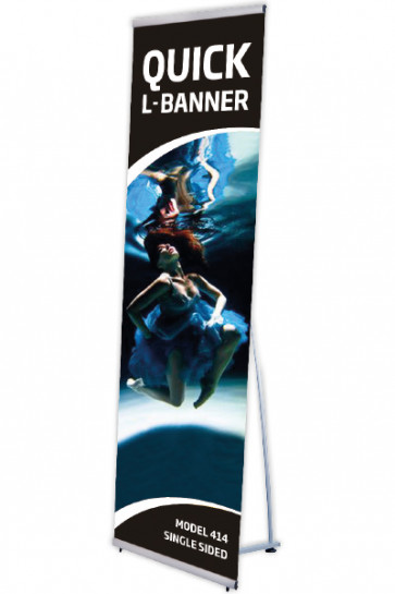 Quickbanner samleled med 2 stilskruer
