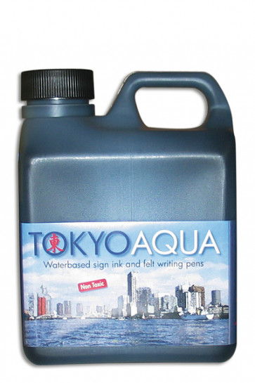 TOKYO AQUA skilteblæk 1 ltr. sort
