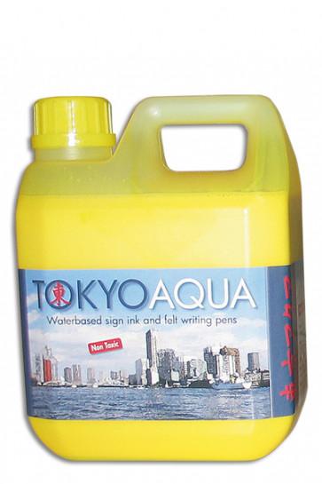 TOKYO AQUA skilteblæk 1 ltr. gul