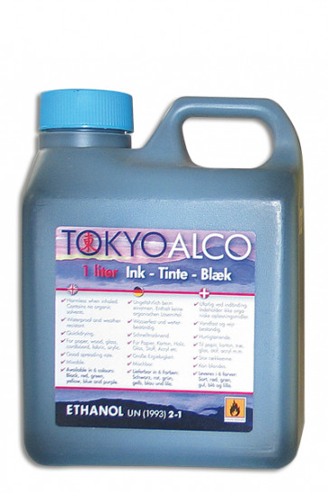 TOKYO ALCO skilteblæk blå