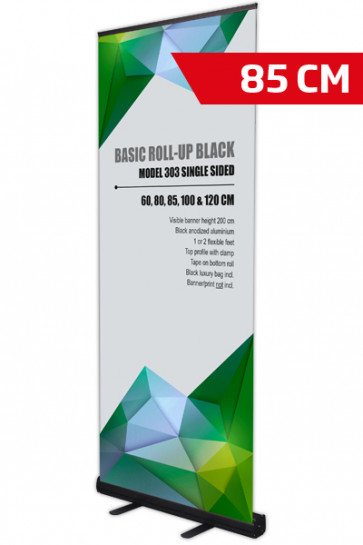 Basic Roll-up, Enkelt Model 85 - sort