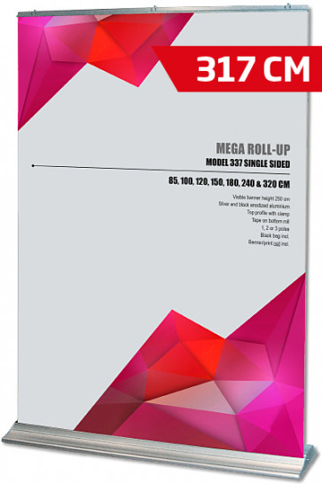 Mega Roll-Up, Model 320 alu