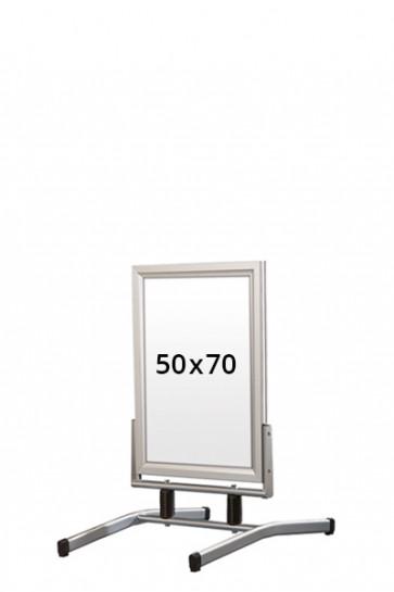 WIND-LINE LUX gadeskilt 45mm (G) 50x70cm alu