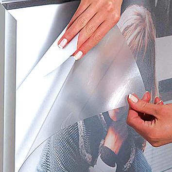PET ANTIREFLEKS frontplade u/magnet A1