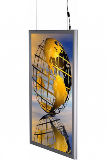 LED Light box 50x70cm Double sided - vertikal