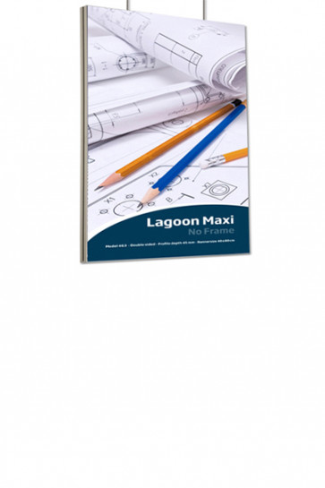 Lagoon Frame Double sided  A0