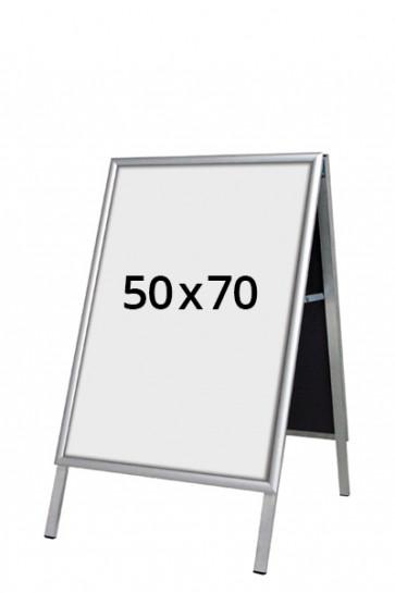 ALU-LINE Budget Gadeskilt 25mm 50x70cm (G) ALU