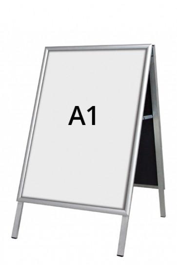 ALU-LINE Budget Gadeskilt 25mm A1 (G) ALU
