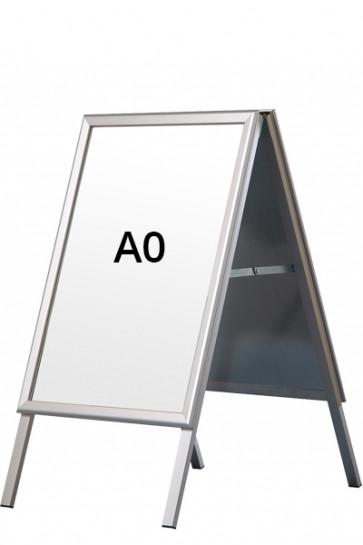 ALU-LINE gadeskilt 32mm A0 (G) ALU