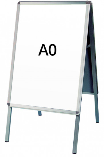 ALU-LINE gadeskilt 32mm A0 (R) ALU