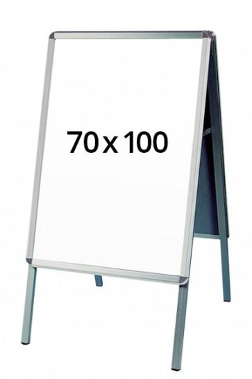 ALU-LINE gadeskilt 32mm 70x100cm (R) ALU