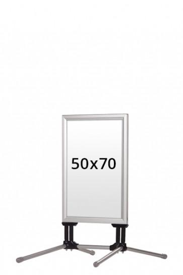 WIND-LINE BUDGET gadeskilt 40mm (G) 50x70cm alu