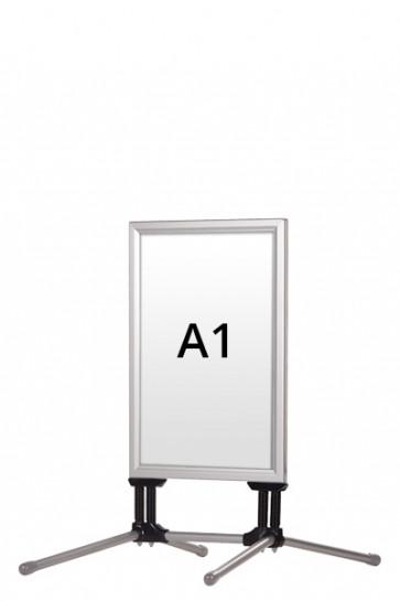 WIND-LINE BUDGET gadeskilt 40mm (G) A1 alu