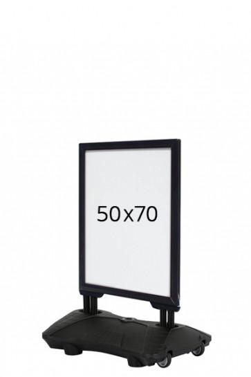 WIND-SIGN Waterbase Budget 40mm (G) 50x70cm - Black