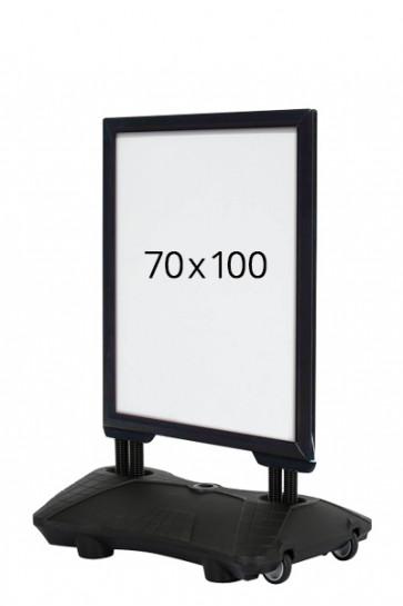 WIND-SIGN Waterbase Budget 40mm (G) 70x100 cm - Black