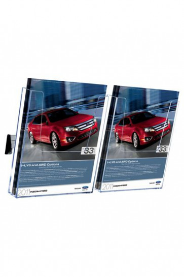 Brochure Holder Wall Arylic 2xA4