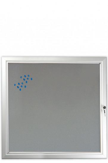 INFOBOX filt m/lås 12xA4 Alu