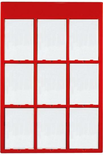 INFO MODUL 9xA4 rød