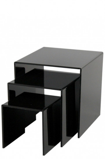 Nesting Shelves x 3 - black