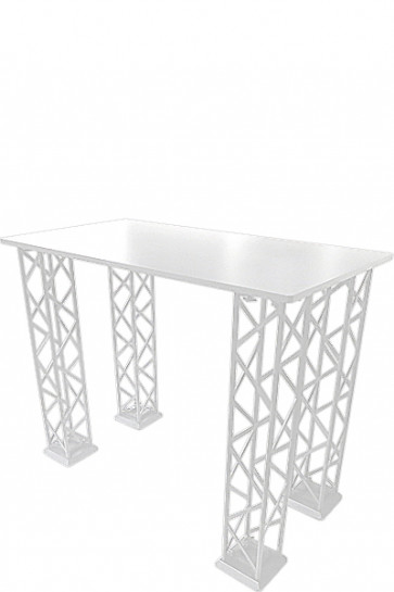 CROWN TRUSS Counter - Rectangle  95x65cm - White