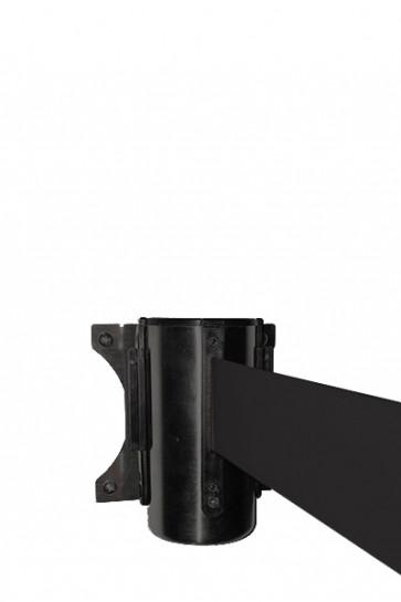 Crowd control belt dispenser wall, black - Black